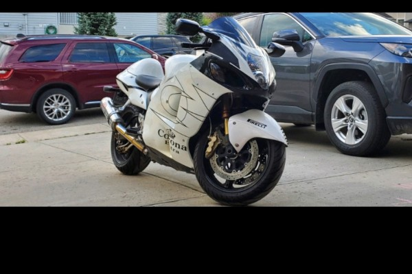 Motorcycle Suzuki Hayabusa