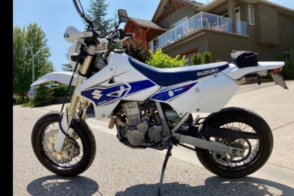 Motorcycle Suzuki DRZ 400sm